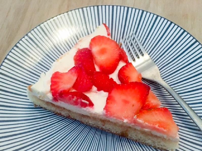 """Cheat"" Aardbeien taart"