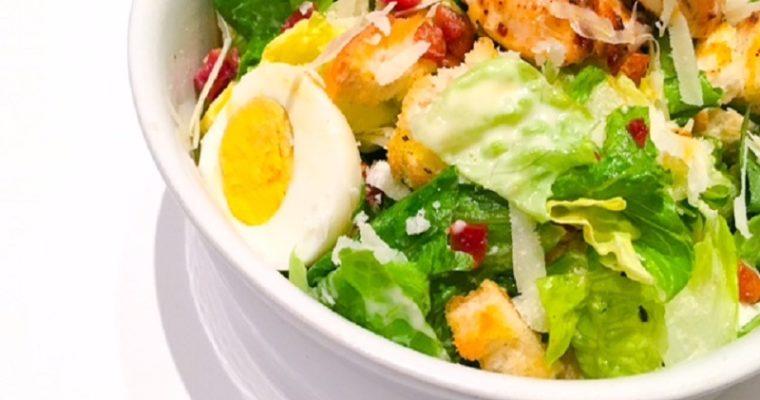 Caesar salade met kip