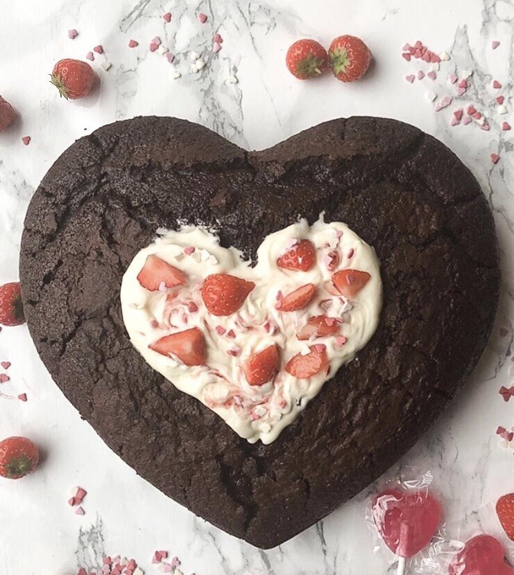 Lekkerste chocolade cake/taart (valentijn)